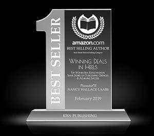 Winning Deals in Heels Amazon Bestseller Desk Award