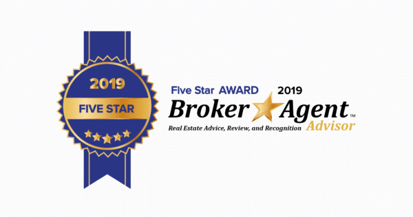 Broker Agent Five Star Award